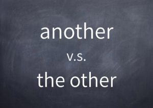 [008]anotherとthe other