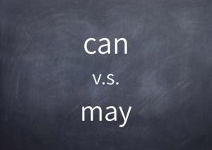 [011]can v.s. may